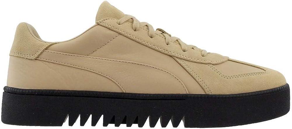 PUMA Mens Terrains x XO Casual Sneakers, Beige