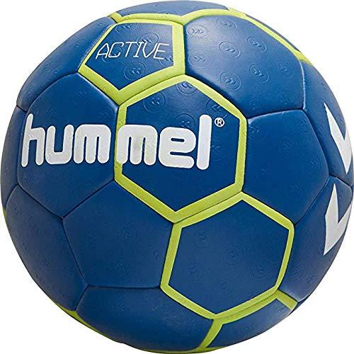 hummel hmlACTIVE Handball, True Blue/Sulphur Spring, 2