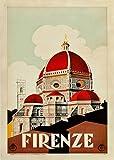 Wallbuddy Florenz Italien Poster Firenze italienisches