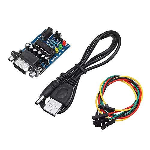 KAIBINY Módulo de RS232 a TTL convertidor de Transferencia de módulos Chip con 4PCS Cables de conexión