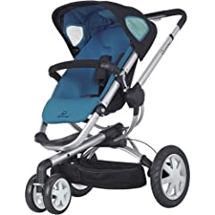 Automatic unfold and has a reversible and reclining seat so that baby can face you or the world Height adjustable handle bar Air-filled rear tires and suspension provide a smooth ride Has a roomy cushioned seat and adjustable sun canopy Includes adju...