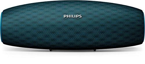 Philips Everplay BT7900A - Altavoz Bluetooth (Potente y portátil de pie, Resistente al Agua, con micrófono, Correa USB) Color Azul