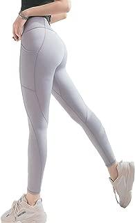 Cupocupa Yoga Pants with Pockets for Women High Waist Tummy Control Yoga Legging