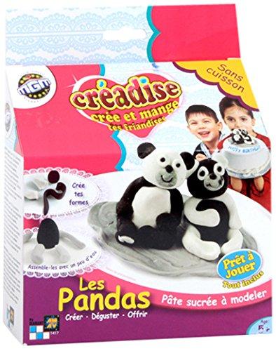 Mgm - 001417 - Pâte À Modeler - Creadise - Boîte Panda
