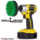 Drill Power Scrubber Drill Powered Spinning Detaillierung Nylon Bürste mit Quarter Inch Schnellwechselwelle