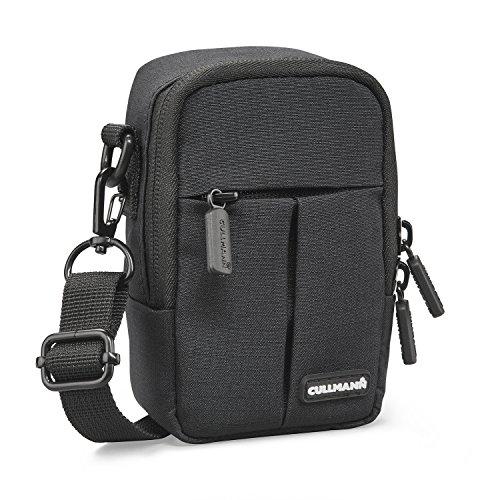 "Cullmann Malaga Kompakt \""400\"" Kameratasche für Kompaktkamera, 7 x 12 x 5 cm Schwarz"