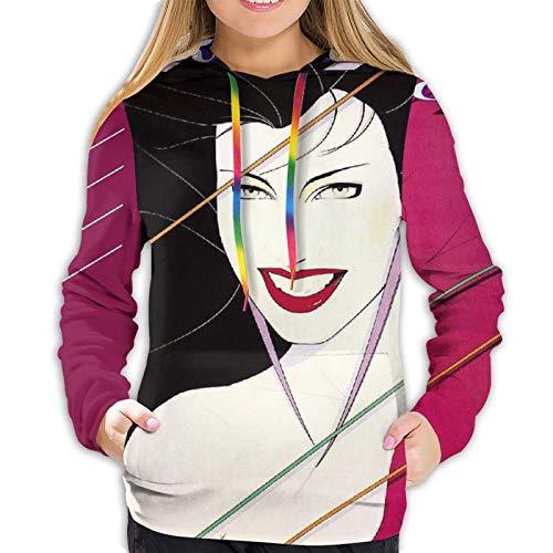 Fangner Duran-Duran Womens Sweatshirts Autumn Winter Leisure Hoodie Black