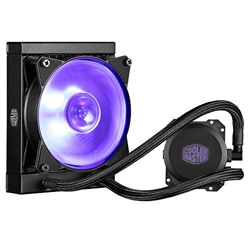 Cooler Master MasterLiquid Lite 120 - Unità di raffreddamento a liquido per CPU tutto in uno, con pompa a doppia camera, INTEL/AMD con supporto AM4 ML120L RGB