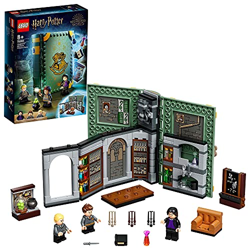 LEGO76383HarryPotterMomentoHogwarts:ClasedePociones,LibrodeJugueteC...
