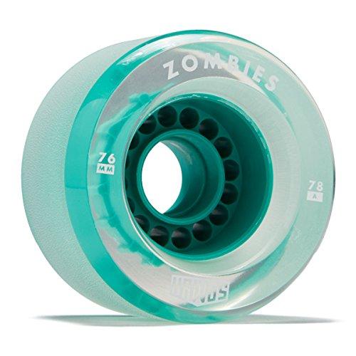 Top longboard wheels clear blue for 2021