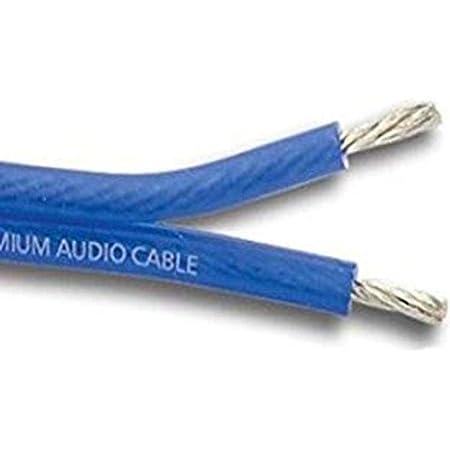 Stinger SHW514B15 Hyper Flex Matte Blue Color 14 Gauge Speaker Wire 15 -Foot