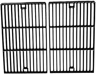 Cast Iron Cooking Grid for Grand Hall, GR2039201-BC-00, Sterling and Brinkmann 2300, 6345, 6345-0, 810-2235-0, 810-2250-0, 810-2310-1, 810-2320-B, 810-2400-0, Gas Grill Models, Set of 2