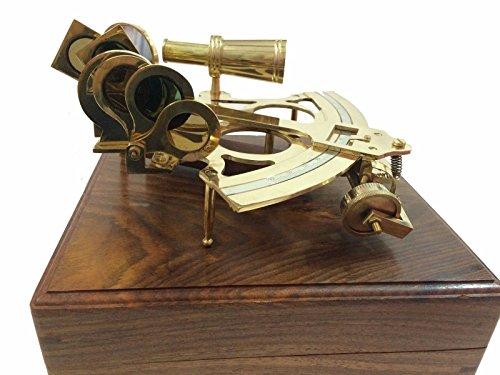20,3cm Antik Maritime Messing Nautischen Casanova nauticals Sextant polarsterns Arbeiten Casanova...