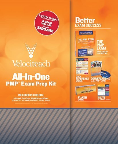 All-in-One PMP Exam Prep Kit (Test Prep series) 4 Box Flc edition by Crowe PMP PgMP, Andy (2010) Hardcover
