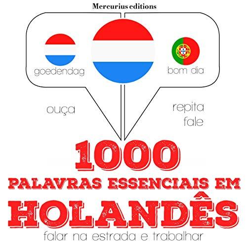 1000 palavras essenciais em holandês audiobook cover art