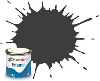 Humbrol Enamel Paint Dark Grey Matt 14ml jar #0032