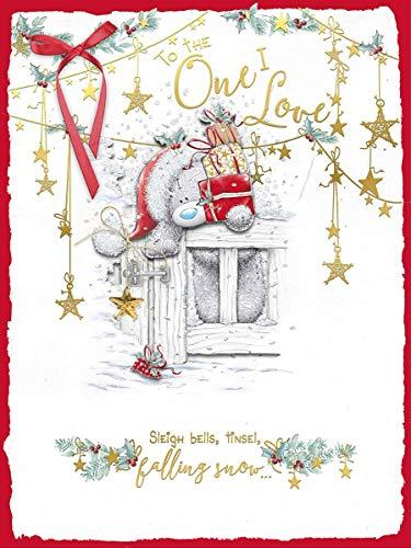 Cesto Me to You boxed Handmade extra large biglietto d' auguri di Natale One i Love