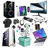 ASASX Misteriosas Cajas de Regalo electrónicas, artículos aleatorios, como teléfonos móviles, Auriculares Bluetooth, etc, Todo es Posible