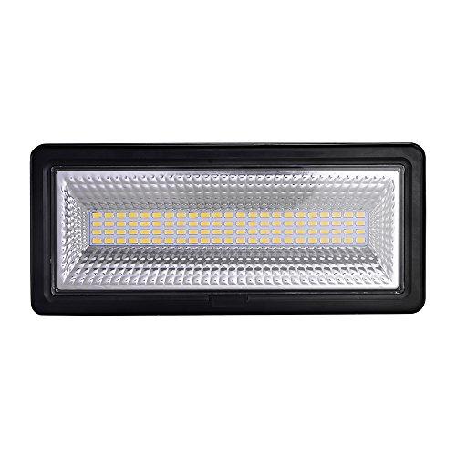 50W 100W Focos LED Exterior Puede fusionarse LED Foco Proyector, Peso ligero, Ultra Delgado, Bajo Consumo de Energía y Alto Brillo (50W, Blanco cálido)