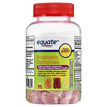 Equate Probiotic Gummies 60 Ct