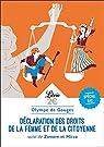 Déclaration des droits de la femme et de la citoyenne 2022 par Gouges