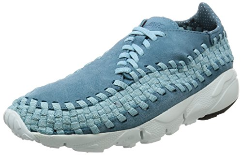 Nike Air Footscape Woven NM Herren Sneaker Wildleder 875797 Ochre Blue EU 43