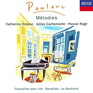 Poulenc: Mélodies Vol. 1