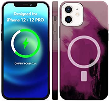 Licheers Liquid Silicone Magnetic Case for iPhone 12 / 12 Pro