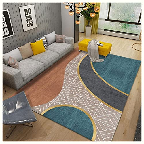 GJHYJK Dormitorio Alfombras Cómodo Sala de Estar Interior Flor Área Mat Mat,8-60 * 90cm