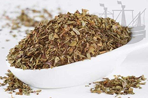 Basilikum Gewürz, gerebelt, 10 x 50g GROSSGEBINDE, 1. Sorte unbehandelt, für Tomatengerichte, Salate und Pastasossen - Bremer Gewürzhandel