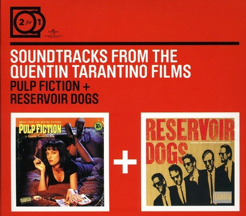 2 For 1:Pulp Fiction OST/Reservoir Dogs OST (Digipack ohne Booklet)