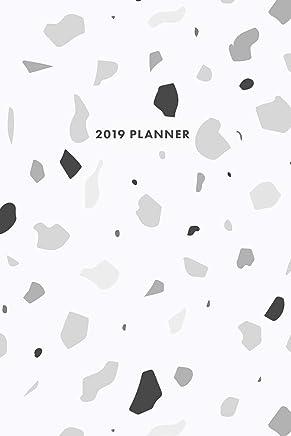 "2019 Planner: Moonstone Terrazzo 12-Month Planner, 6"" x 9"""