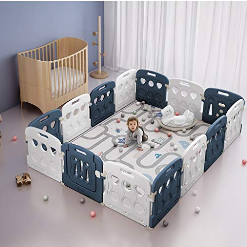 Best Prices! Playard Large Creative Baby Playpen, Children's Home Playground,Splicing Color Activity...