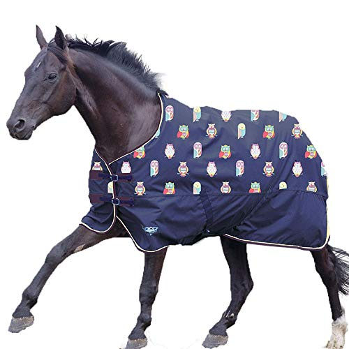 Shires Tempest Original Lite Turnout Sheet Lightweight Horse Sheet for Summer & Spring | Spring Owl 81'