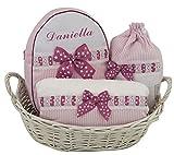 Canastilla PETIT regalo para recién nacido PERSONALIZADO CON EL NOMBRE DEL...