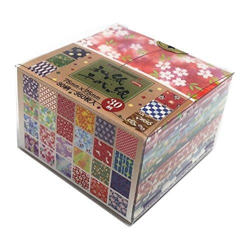 Aitoh Origami-Papier 75 x 75 mm (3 x 3 Zoll) 360 Stück/Packung