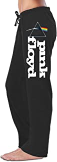 Fast & Furious Women's Pink Floyd Band Logo Sweatpants Running Pants Black