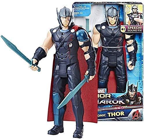 XINZ-BYT Juguete Figura de acción de Thor Thor - de la Liga de Avengers - Juguetes Conjuntos de la colección de Regalos de cumpleaños Infantil de Juguetes para niños Modelo de Juguete
