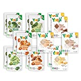 Yooji - Panier Légumes Viandes et Poissons Bio pour le Repas de Bébé de 6 à 8 Mois - Alimentation Saine et Équilibrée - Saveur Viandes et Légumes pour 60 Repas