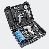 Druckluftwerkzeug-Set 27tlg inklusive Druckluftpistole und zahlreichem Zubehör