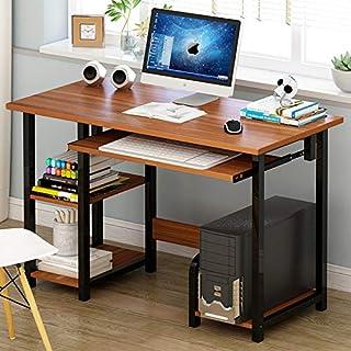 8defb6d8333 AimdonR - Mesa de Ordenador de sobremesa Moderna y Minimalista con  Escritorio combinable