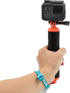 TELESIN Dive Buoy Handheld Floating Hand Grip for Gopro Hero 6, Hero 5 Black, Hero 5 Session, Hero 4, Hero4/3+/3