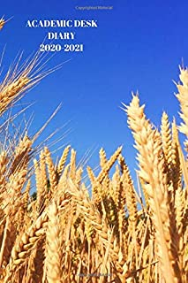 ACADEMIC DESK DIARY 2020-2021: A5 Diary Starts 1 August 2020 Until 31 July 2021. Farming.Paperback With Soft Water Repelli...