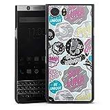 DeinDesign Hard Hülle kompatibel mit BlackBerry KeyOne Schutzhülle schwarz Smartphone Backcover Soy Luna Disney Offizielles Lizenzprodukt
