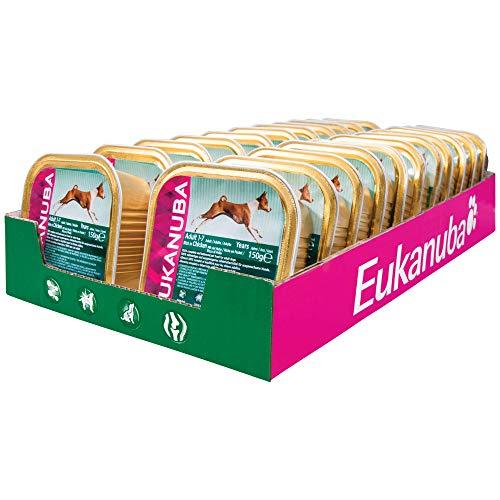Eukanuba natte voering voor honden, verschillende soorten in saus (22 x 150 g)