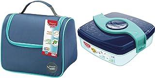 Maped Picnik Origins - Lunch bag Sac à Déjeuner Isotherme - Bleu & Picnik Origins - Boîte à Goûter Compacte pour Enfants -...