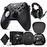 Microsoft Elite Series 2 Controller with Logitech G G635 Gaming Headset + Extra USB Cube and More - Gamer Bundle