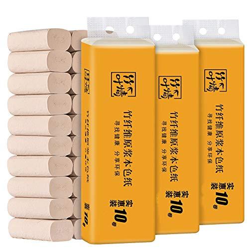 CHENYAO Huishoudelijke Artikelen Rolpapier Kernloze Milieubescherming 3-laags Rolpapier Handdoeken Betaalbaar Zacht Toiletpapier (10 Rollen / 1 Lift X3 Lift)