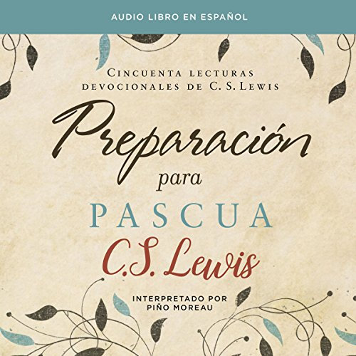 Preparación para Pascua [Preparing for Easter] audiobook cover art