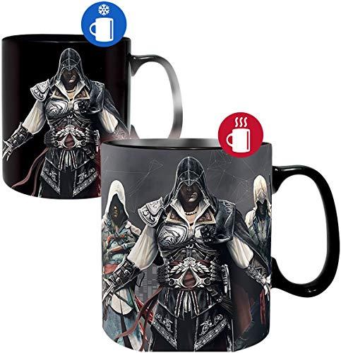 Abystyle, Tasse mit Thermoeffekt, 460 ml, ABYMUG417, mit Assassin's Creed-Motiv